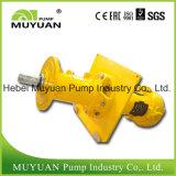 Pompe de carter de vidange verticale résistante à l'usure de préparation de charbon d'étape simple