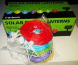 10 lanterne solari con colore ricco, lanterna solare del giardino del LED