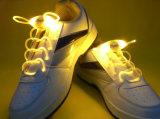 Coloridos cordones LED intermitente con batería de 4 Generación