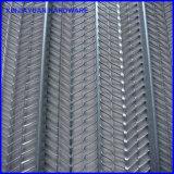 건축 고약 금속 Ribbed 욋가지 v 작풍 패턴
