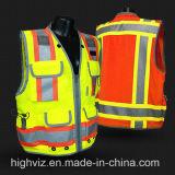 Alta maglia di visibilità con En20471 il certificato (C2023)