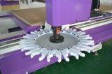 Macchina funzionante di legno di CNC di Atc dell'asse di rotazione di Hsd con il trivello dell'Italia