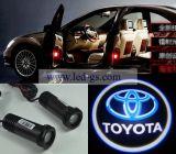 Toyota를 위한 LED 문 단계 의례 Laser 영사기 그림자 램프 빛