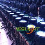 3years свет 36PCS*3W RGB Edison СИД партии гарантированности СИД для света напольного этапа