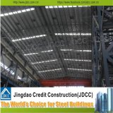 Bajo costo de construcción del diseño del metal de acero de construcción Estructura