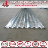 Hoja acanalada galvanizada acero largo de la azotea de palmo de SGCC