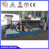 Máquina de rolamento famosa W11-10X3200 da placa de aço do rolo do tipo três de China