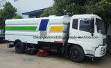 Dongfeng 9000m2 Street Cleaning de Straatveger Truck van 6000 L