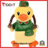Garçon canard farci de canard jaune Toy des animaux en peluche