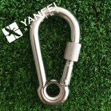 DIN 5299c Acero inoxidable Karabinerhaken Snap Hook