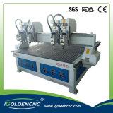 El doble dirige la perforadora 1325 del CNC