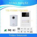 Dahua téléphone visuel de porte de nécessaire analogique de 4.3 pouces (VTK-VTO5000C-VTH1200DS)