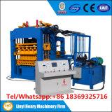 Qt4-15 Sistema hidráulico automático Blocos de tijolos vazios Fazendo máquinas Máquina de bloco de pavimentadora de Dubai