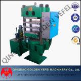 Vier Spalte-Gummivulkanisierenpresse/Gummifußboden-Fliese, die Maschine herstellt