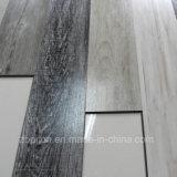 Plancher de luxe de vinyle de PVC de configuration en bois