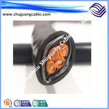 XLPE изолировало обшитый PVC кабель системы управления минирование стального провода Armored