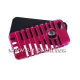 Disque hybride de microphone à impact élevé en cas de caoutchouc de silicone pour iPhone 5 (TR5H009)