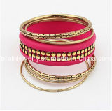 Multi-Capa brazaletes metálicos /Aleación de zinc chapado en oro de la Prom Aniversario Pary Pulsera de bisutería de primavera de 2013 elementos de la moda Bisutería