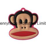 3D PVC molle su ordinazione Keychains della catena chiave del silicone del PVC Keychain