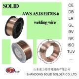 溶接ワイヤEr70s-6の二酸化炭素ワイヤー