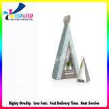 2018のカスタム豪華なギフト用の箱の三角形の整形コーティングの紙箱