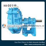 Pompe d'extraction centrifuge horizontale de boue d'étape simple d'usine de la Chine