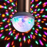 Navidad portátil etapa parte de espejo de la luz de bola de discoteca