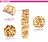 [بلوند] [برزيلين] شعر مزج إمتدادات [4بكس] طول عسل [بلوند] جعداء مجلّدة [هومن هير] حزمات صفقة ليّنة مجلّدة 613 شعر يحوك