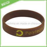 Wristbands di gomma su ordinazione del rifornimento della fabbrica