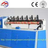 Qgj-98 seguros y confiables precisan la máquina del cortador para el tubo de papel espiral