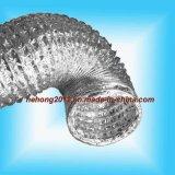 비 격리된 알루미늄에 의하여 송풍되는 유연한 덕트