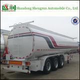 3 반 차축 45m3 기름 연료 실용적인 탱크 트레일러 트레일러