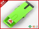 APC van Sc de Simplex Singlemode Optische Adapter van de Vezel