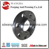 Brides de garnitures de pipe d'acier du carbone de retrait de Customed
