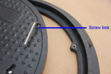 En124 Composite Material Fiber Manhole Cover and Frame