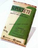 China-Lieferanten-pp. gesponnener Beutel für Reis-Weizen-/Sugar-weiße Farbe Polypro.