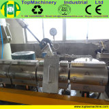 Tipo di plastica granulatore dell'anello dell'acqua della pellicola di agricoltura dello strato della rafia dello scarto del LDPE