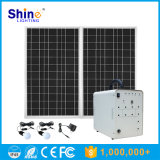 Facile à utiliser le kit d'éclairage solaire Mobile système d'alimentation