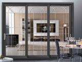 Подгонянная раздвижная дверь 3 следов алюминиевая для селитебной дома