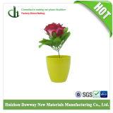 Eco Friendly Matériaux Bambou Mini Jardin Pots de fleurs de diverses couleurs solides