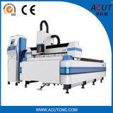 Machine à découper au laser à fibre d'acier au carbone pour la tôle