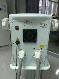 il doppio portatile tratta la macchina di IPL di cura di pelle di rimozione dei capelli di IPL Elight