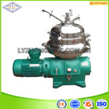 Máquina de separación centrífuga de disco de separación de aceite de la planta de descarga automática Dhc400