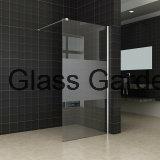 Dusche-Bildschirm-bereiftes Glas des Badezimmer-Chrom-Spant-8 10mm ausgeglichenes