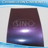 Entrega rápida Steelblue Chameleon el papel de envoltura de coche