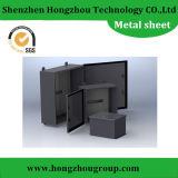 Peças de aço de lustro personalizadas da fabricação da folha de metal