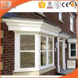 Alabado alta Fluorocarbono revestimiento de aleación de aluminio Bay & Bow Window, Personalizado Tamaño Solid Wood Bay y Bow Window