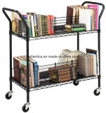 Rack de la canasta de metal ajustable /carrito Carrito para archivo/almacenamiento de papel (TR753590A2CW)