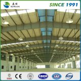 Costruzione prefabbricata della struttura d'acciaio dei due piani per il magazzino