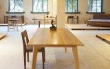 Tabella solida di Restauran della Tabella pranzante di legno di quercia (M-X1104)